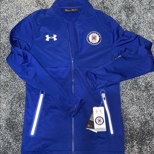 New Under Armour Cruz Azul FC Soccer Jacket